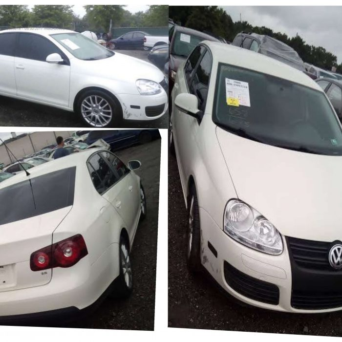 USA Fairly Used 2008 White Volkswagen